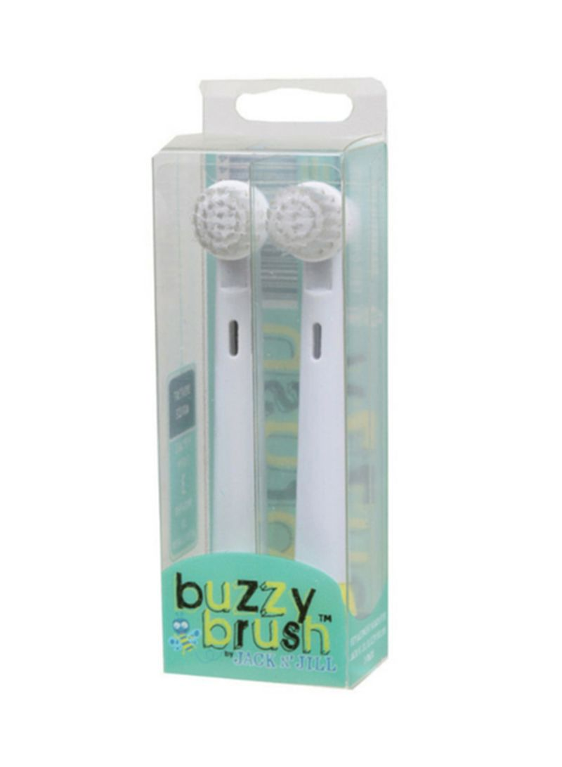 Buzzy Brush Replacement Heads 2pk