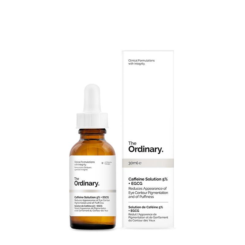 caffeine The Ordinary serum