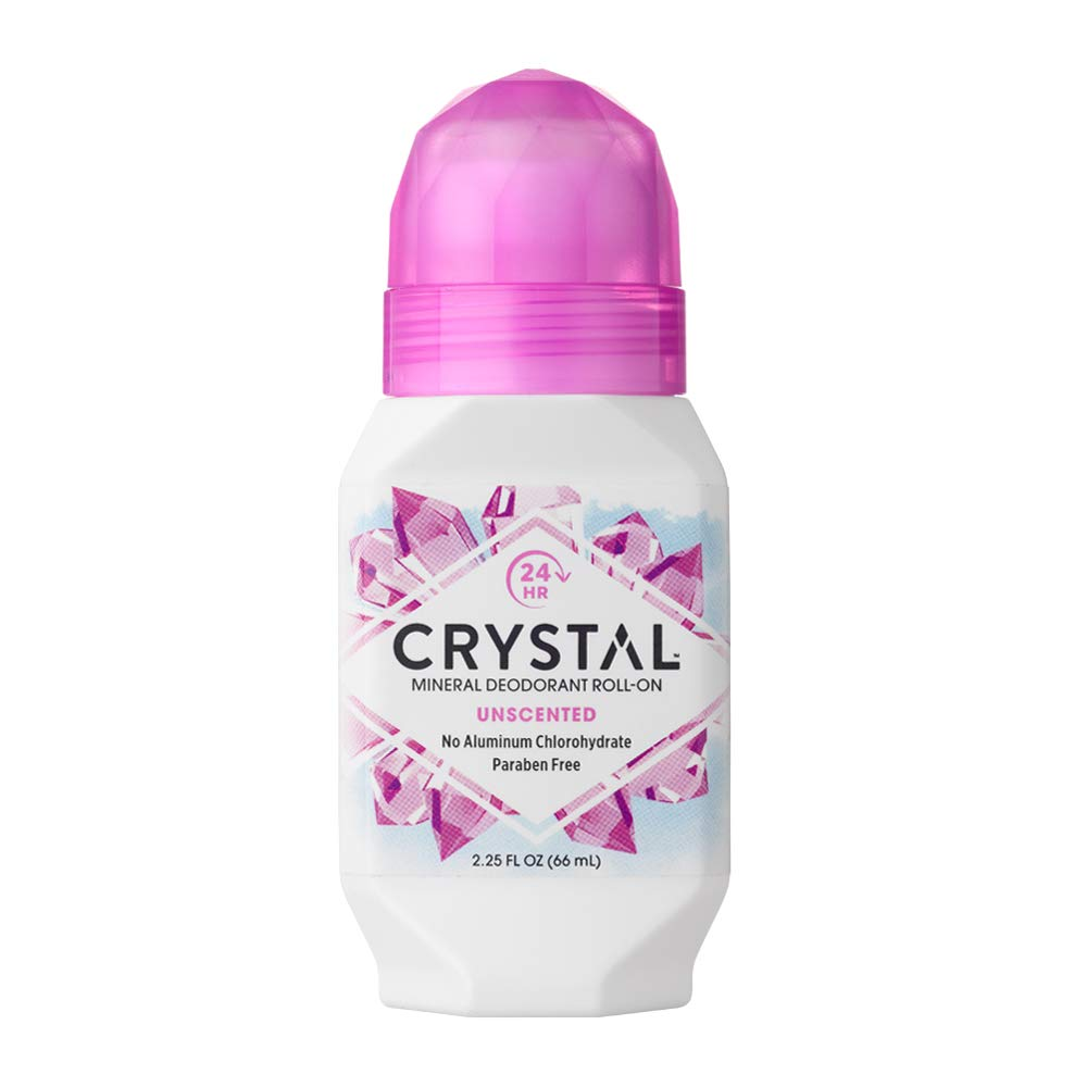 Crystal essence Mineral Deodorant Roll-on, Unscented