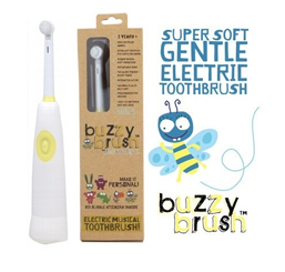 Electric musical toothbrush
