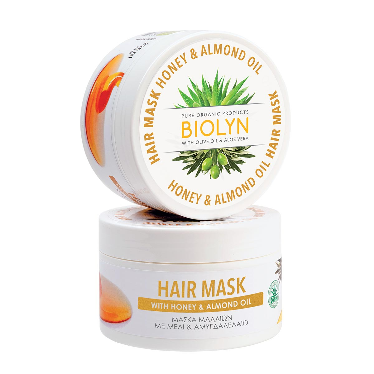 HAIR MASK with Honey & Almond Oil