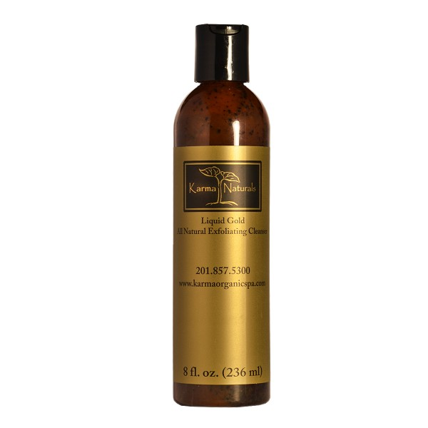Karma Naturals Liquid Gold - All Natural Exfoliating Cleanser