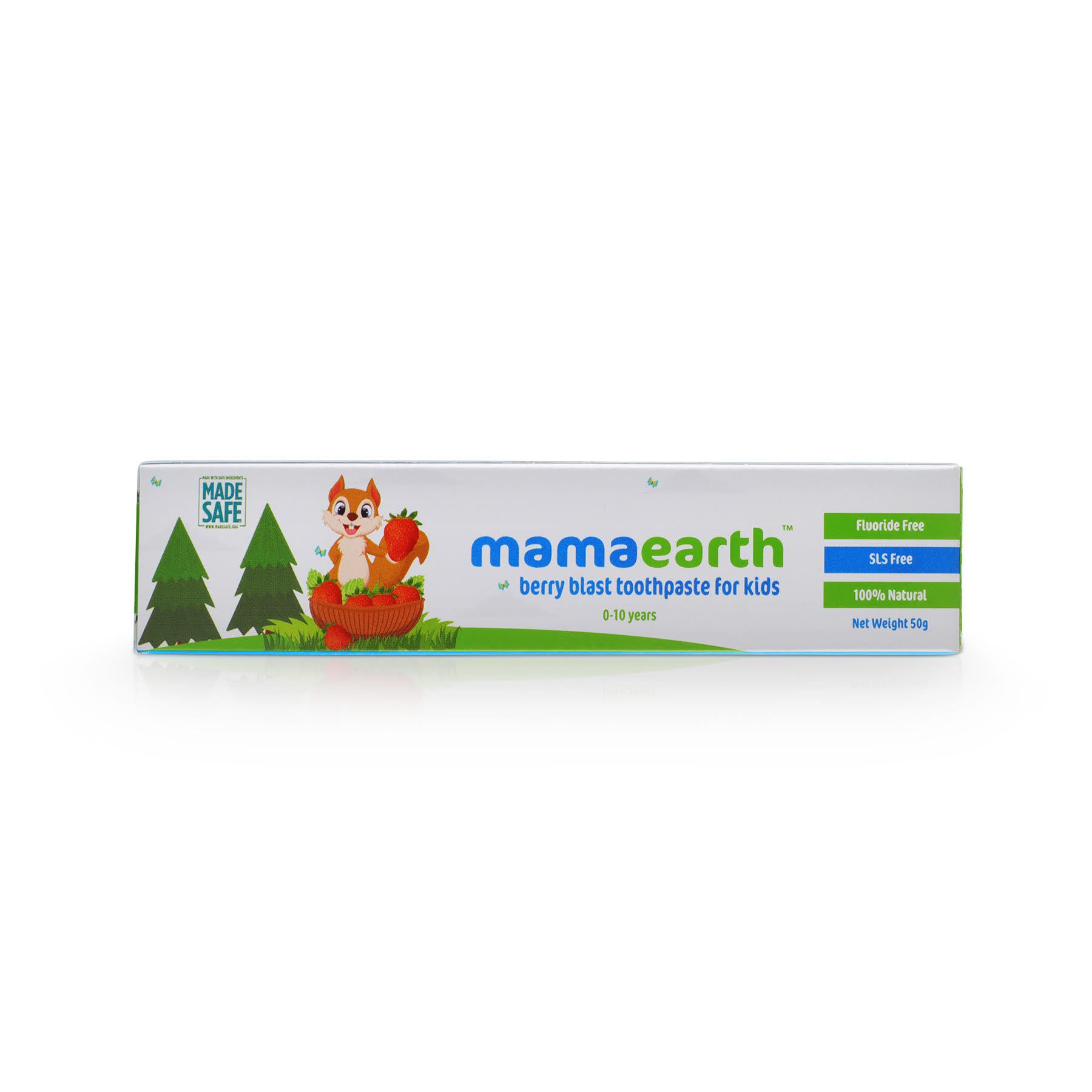 Toothpaste Strawberry Flavour Jack N Jill 50g Natural Berry Blast For Kids 50 Gm