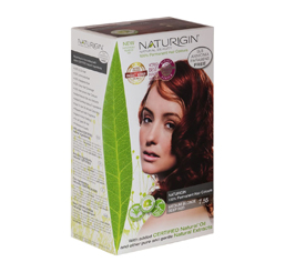 Natural Hair Colorant Med BI Deep Red 7.55
