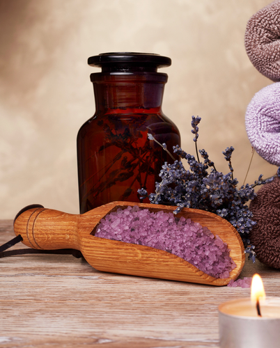 Natural Massage Oil (Lavander and Grenanium)