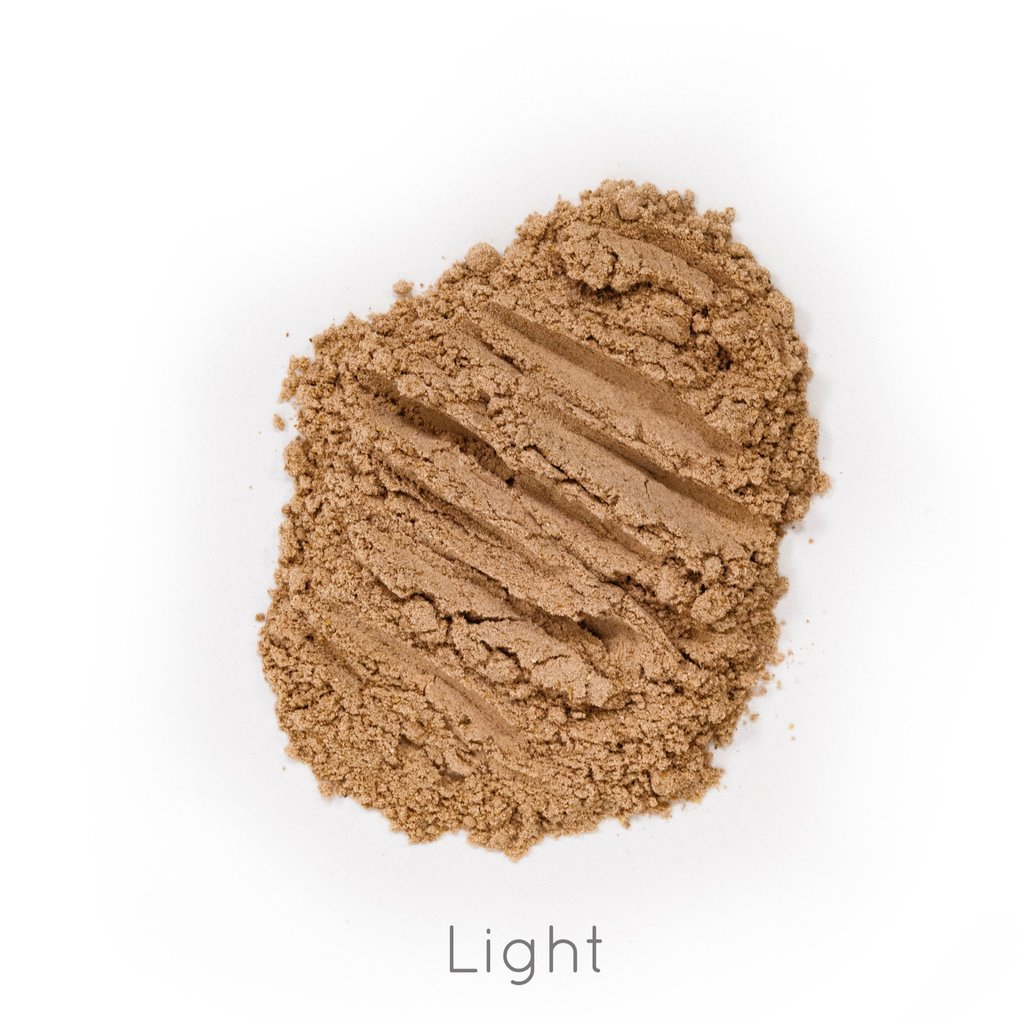 ORGANIC FACE POWDER  - LIGHT