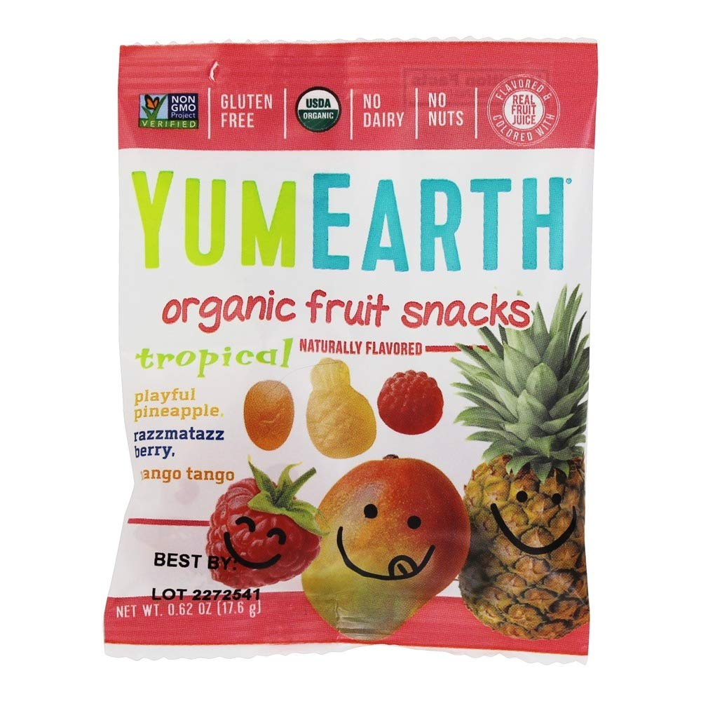 Organic Fruit Snacks - Tropical