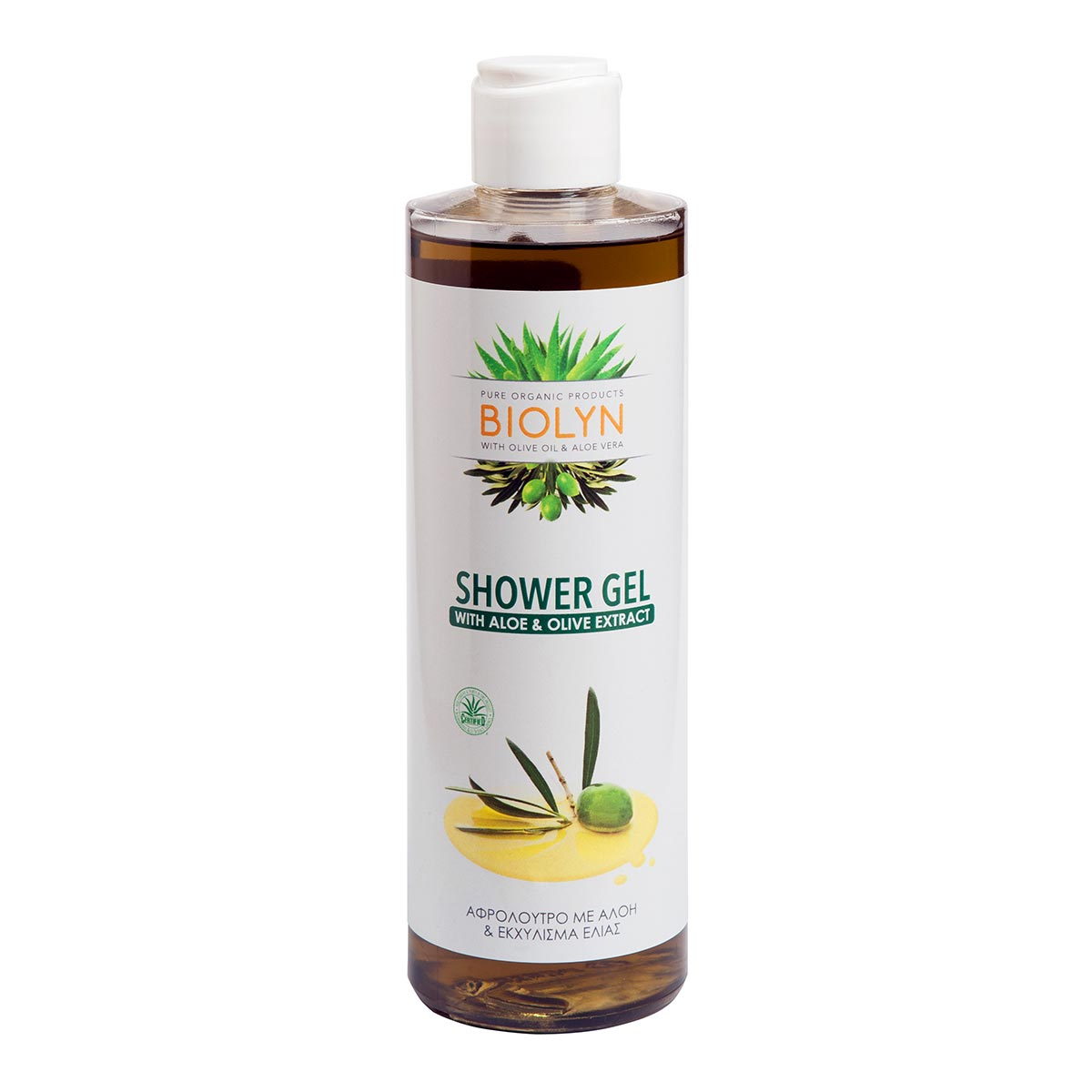 SHOWER GEL with Aloe & Olive Extract