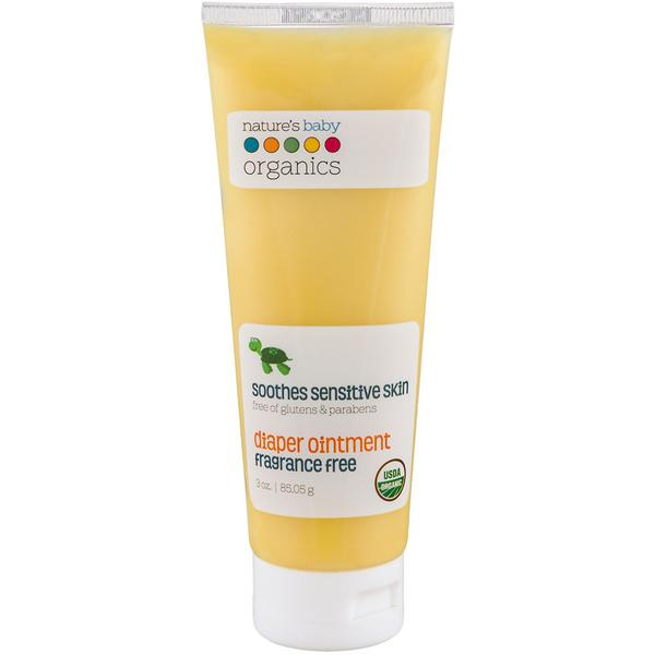 USDA Organic Diaper Ointment Fragrance Free 3oz