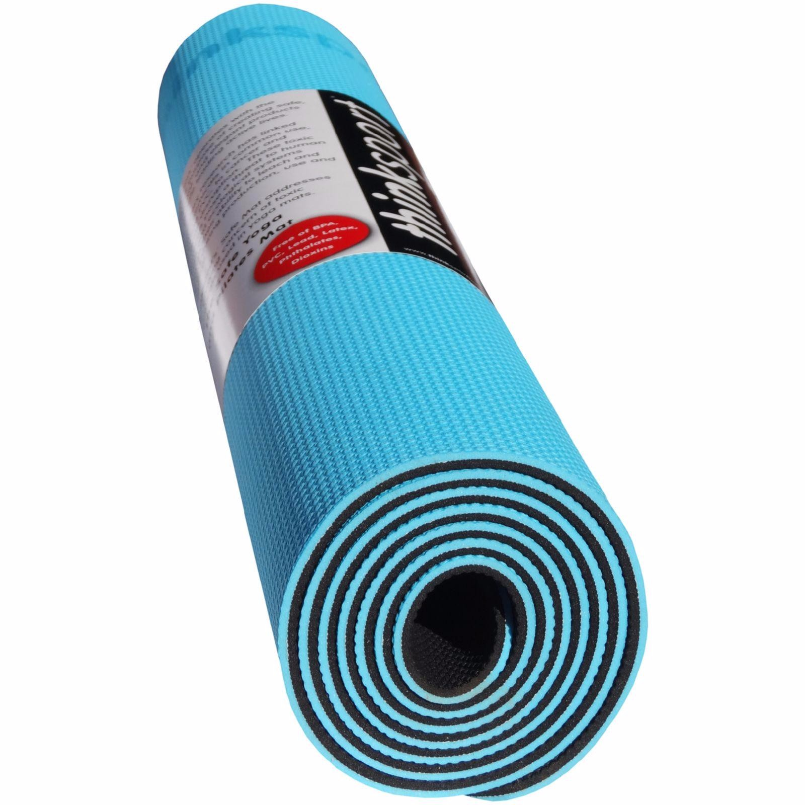 YOGA AND PILATES MAT (BLUE)