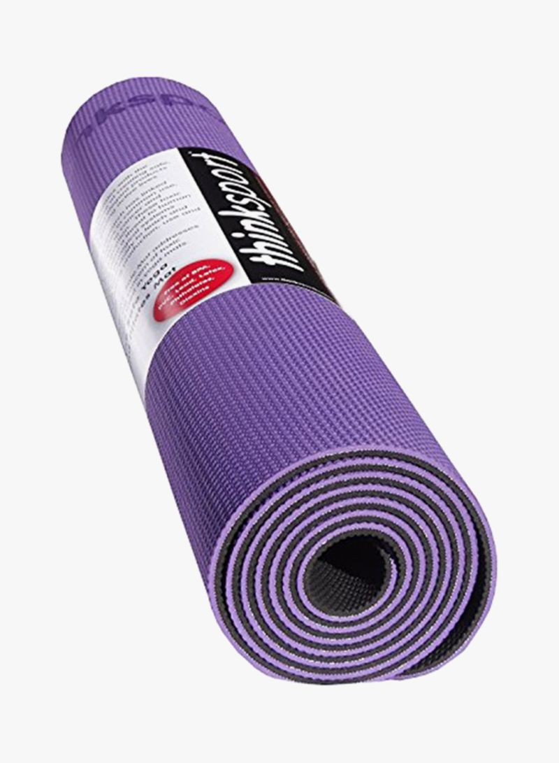 YOGA AND PILATES MAT (PURPLE)